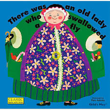 There Was an Old Lady Who Swallowed a Fly by Pam Adams (Hardback, 1973)
