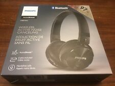 Philips Wireless Active Noise Canceling Headphones SHB8750NC Black