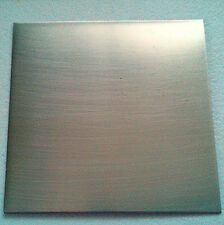 High Quality Nickel Silver Sheet - 150x120x1mm - Perfect For Jewelery Free Post