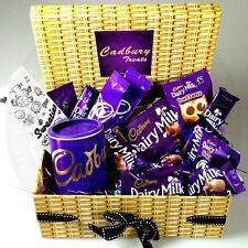 Cadbury Dairy Milk Chocolate Treasure Box Full of Treats (D1) Buttons Bars Drink