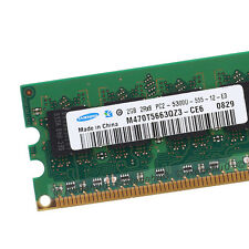 New 2GB PC2-5300 667Mhz DDR2 240Pin 1.8V CL5 Low Density Dimm SDRAM Memory