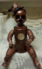 Steampunk Baby Doll Victorian Sci-Fi Zombie Baby Halloween Haunted  Horror Prop