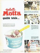 PUBLICITE ADVERTISING 026  1963  Gelati Motta  glaces coupe Junior
