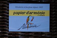 Véritable Papier d'Arménie désodorisant naturel Edition « L'Année de l'Arménie »