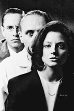 Scott Glenn Anthony Hopkins Jodie Foster The Silence of the Lambs 11x17 Poster