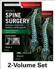 Benzel's Spine Surgery:Techniques, Complication Avoidance, & Management 4e 2016