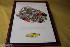 1970 SS 454 LS6 Chevelle Chevrolet engine cut away David Kimble Yenko Nickey