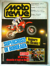 N°2658 MOTO REVUE  Super Cross de Bordeaux/6 h d'Epinal