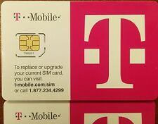 T-Mobile 4G LTE FACTORY MICRO Sim Card. NEW TMOBILE