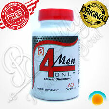 4 MEN Male Enhancement Pills Sexual Endurance Erection Stamina Libido Virility