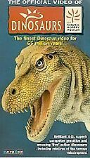 Dinosaurs: The Official Video Of The Natural History Museum [VHS], Good VHS, ,