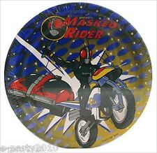 MASKED RIDER LARGE PAPER PLATES (8) ~ Birthday Party Supplies Dinner Luncheon