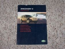 2005 Land Rover LR3 Discovery 3 HSE & SE Navigation System Owner Manual Book