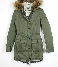 New Abercrombie A&F by Hollister women Meg Sherpa Lined Jacket Outerwear Size M