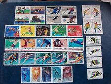 Olympic Games Collection (36 stamps)
