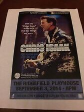 VERY RARE CHRIS ISAAK Promo Poster for Ridgefield Connecticut Show