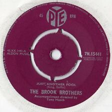 """Brook Brothers - Just Another Fool 7"""" Single 1962"""