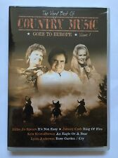 Country Music Comes to Europe Vol. 1 DVD Audio 2006 Johnny Cash Brand NEW Sealed