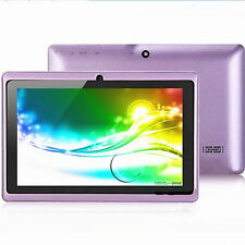 Cheap Best 7inch Android4.2 Dual Core Dual Camera Tablets PC WiFi 4GB 32G Purple