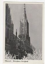 Ulm a D Muenster Germany Vintage Postcard 276a