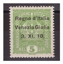 VENEZIA GIULIA 1918 - 5  HELLER   NUOVO   **