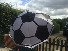 UMBRELLA LARGE FOOTBALL SOCCER UNIQUE DESIGNER GIFT GOLF SIZE UMBRELLA