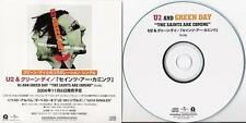 U2 official Japan Promo Only 1 track Cd promo picture sleeve Green Day original