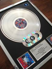 PAUL MCCARTNEY TUG OF WAR LP MULTI PLATINUM DISC RECORD AWARD ALBUM