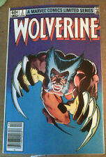 WOLVERINE (1982 Miniseries) #2 Frank Miller VF/NM-  Newsstand Edition