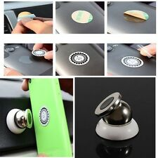 New Universal Magnetic Car Mount Kit Sticky Stand Holder For Mobile Cell Phone