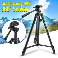 Professional Tripod Stand + Ball Head QR Plate For Canon Nikon Camera DSLR DV