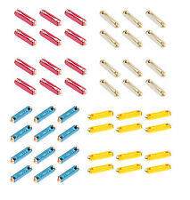 48-Piece Ceramic Torpedo / Bullet Fuse Kit for Audi Mercedes VW Porsche BMW RWBY