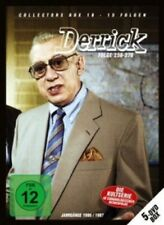 DERRICK - DERRICK COLLECTOR'S BOX 18 (5 DVD/EP.256-270) 5 DVD NEU