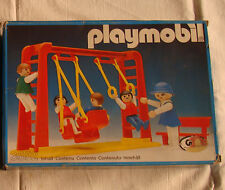 Playmobil 3552 - Area Giochi - Children and Swings- City New MIB Sealed Bags