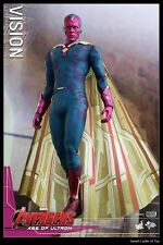 1/6 Hot Toys HT The Avengers Age of Ultron Vision Paul Bettany Figure In Stock