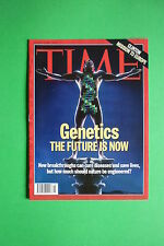 TIME rivista N.3 magazine JANUARY 17 1994 GENETICS THE FUTURE IS NOW CLINTON
