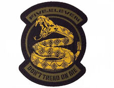 """5.11 Tactical """"Don't Tread On Me"""" Embroidered Hook and Loop Morale Patch"""