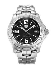 WT5110.BA0550 Authentic Tag Heuer Link Chronometer Men's Classic Black Watch