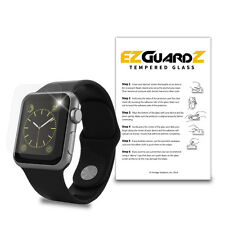 EZguardz Tempered Glass Screen Protector For Apple Watch / iWatch Sport 38mm