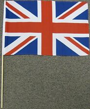 "BRITISH FLAG 12X18 12"" X 18"" UNION JACK UK BRITAIN W17"