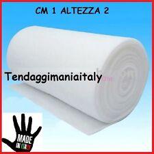 OVATTA SINTETICA TESSUTO STOFFA ALTEZZA MT2 IMBOTTITURA TRAPUNTE DACRON 3,30€ mt