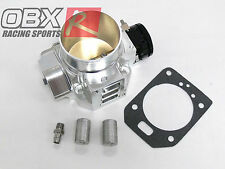 OBX Silver Aluminum Throttle Body 70mm Fits 02 03 04 Integra RSX 2.0L Type-S K20