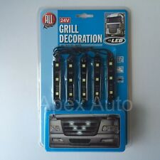 24V Grill Decoration Customisation WHITE LED Truck HGV Lorry Bus - Brand New