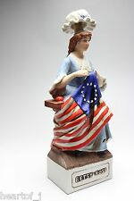 McCormick Betsy Ross Porcelain Whiskey Bottle Decanter Japan Sample Product