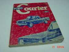 Vintage Ford Courier Pickup Truck Shop Manual 1980 Used alot Repair Aid Book