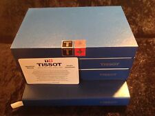 Classic Tissot Luxury Empty Watch Box Complete With Booklets And Cushion