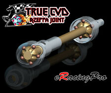 RZEPPA JOINT TRUE CVD AXLE Alloy Steel #45 Rear Main Drive Shaft For Axial Yeti