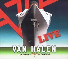 Tokyo Dome in Concert [Digipak] by Van Halen (CD, Mar-2015, 2 Discs, Rhino)