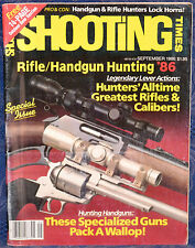 Magazine SHOOTING TIMES, September 1986 !!!PARKER-HALE Model 81 CLASSIC RIFLE!!!