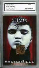 Elvis Presley Authentic Worn Shirt Costume Relic Fabric Swatch Card